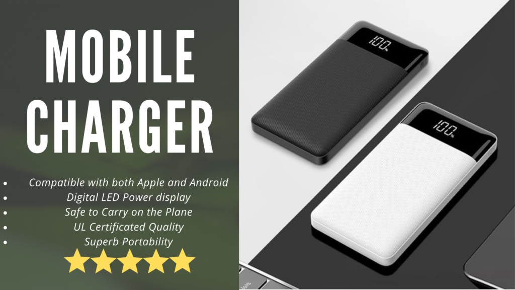 Modern Merch mobile charger reviews